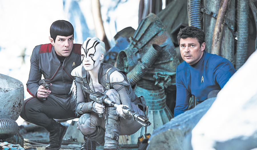 Star Trek Beyond (** ½) PG-13