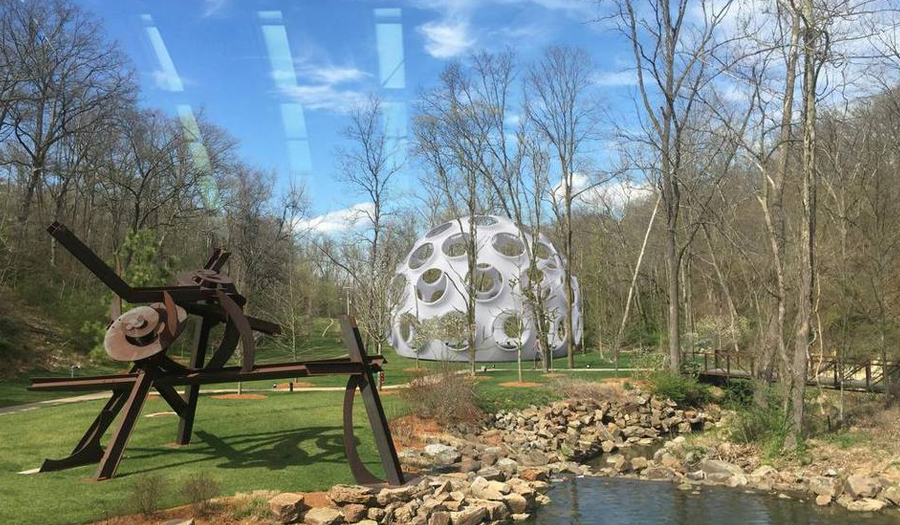 Bucky Fuller's Fly's Eye Dome Will Rest At Arkansas Museum