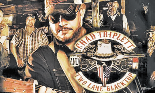 Chad Triplett And Two Lane Blacktop Play This Friday, May 19 At Valdese Family Friday Night