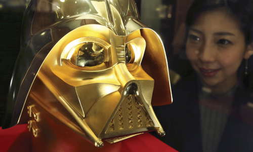 Tokyo Jeweler Offers Gold Darth Vadar Masks For $1.4 Million