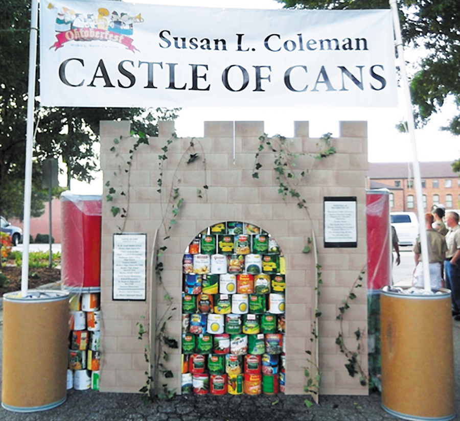 Castle of Cans