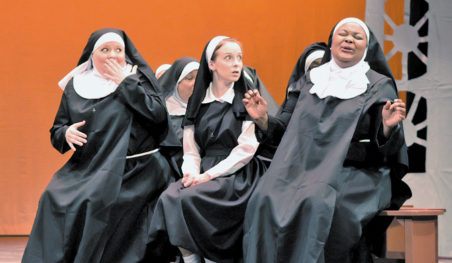 Sister Act The Musical Is A Big Hit At HCT & Continues This Thursday-Sunday; $16 On Thurs.!