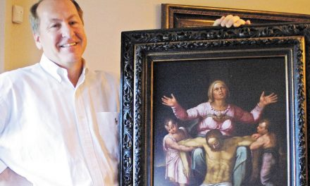 Is The Painting Of Dying Jesus This Man's Family Has Owned For Decades Really By Michelangelo?