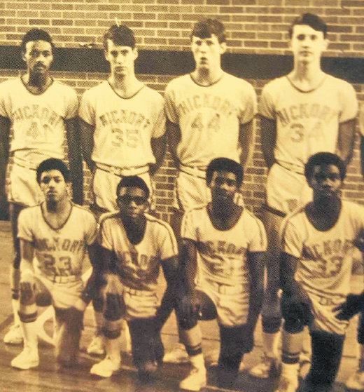 1971-72 HHS basketball team