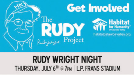 Rudy Wright Night At Crawdads Game On Thursday, July 6