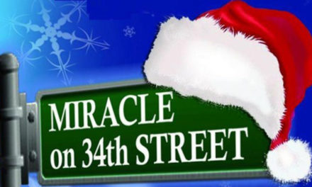 Miracle On 34th St. On November 30 – Sunday, December, 3 at J. E. Broyhill Center