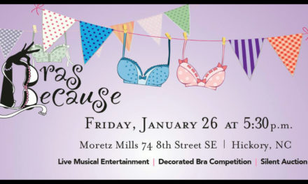 Bras Because Cancer Benefit Is Friday, January 26, At Moretz Mills