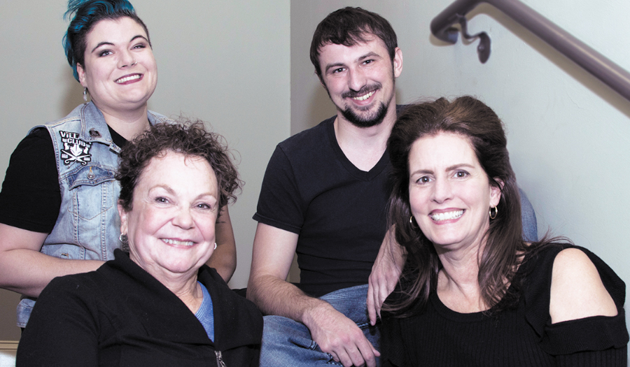 "Cast Set Of Comedy ""Kitchen Witches"", Opening February 9 At Hickory Community Theatre"