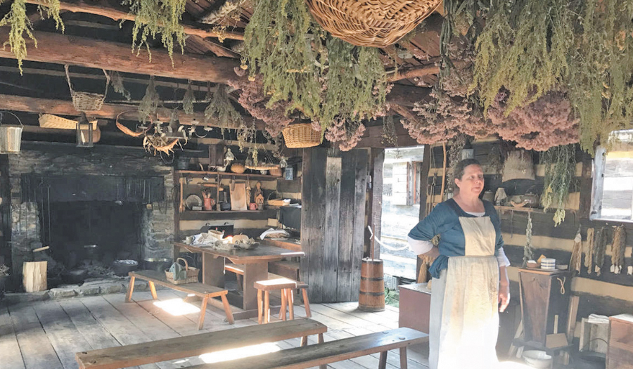 18th Century West Virginia Fort Offers Christmas Each October