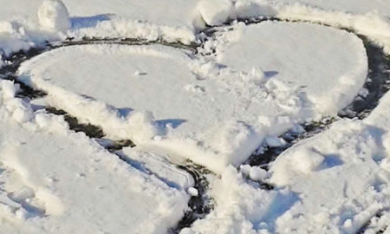 A Lofty Proposal Etched In Snow, 'Marry Me' Seen From Above