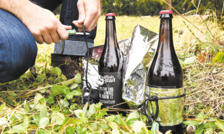 $45 Bottle Of 'Survival Beer' Comes With Knife, Solar Blanket