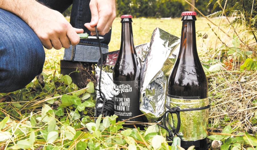 $45 Bottle Of 'Survival Beer' Comes With Knife, Solar Blanket