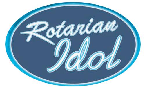 rotarian idol logo