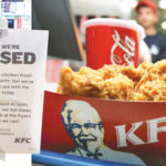KFCs In The UK Have To Close Due To A Chicken Shortage