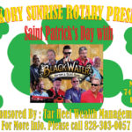 Hickory Sunrise Rotary Club's St. Patrick's Day Dance Is Set For March 17