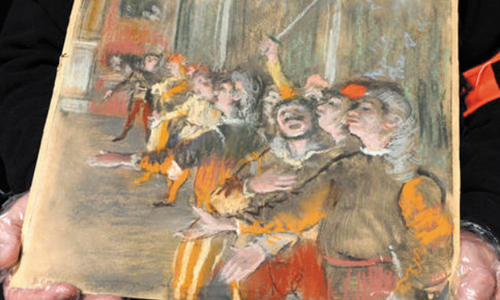 French Customs Officials Find Stolen Degas Eight Years Later