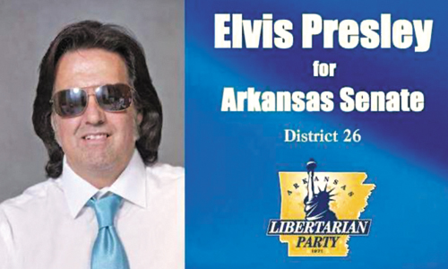 Elvis Presley Is Running For An Arkansas Congressional Seat