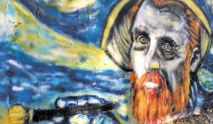 """Florida Homeowners Fined For """"Starry Night"""" Murals On House"""