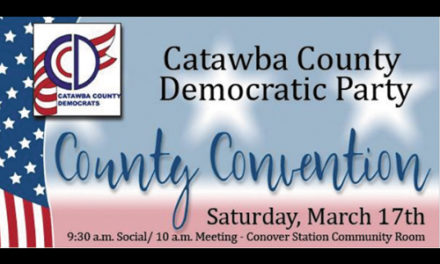 Catawba Co. Democratic Party Convention Is Saturday, March 17