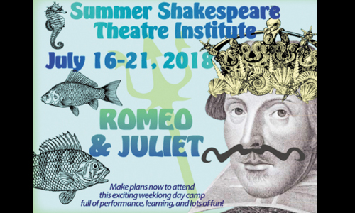 Summer Shakespeare Institute At The Green Room Is July 16-21