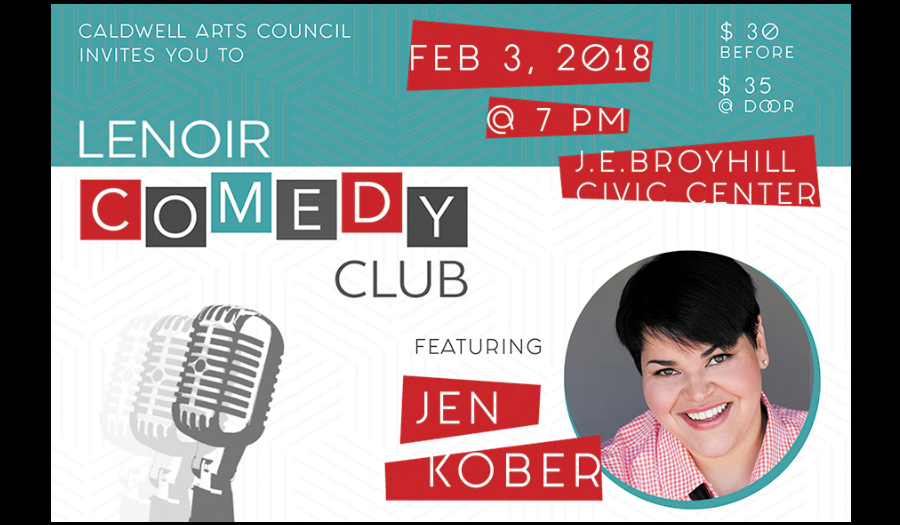 Lenoir Comedy Club Benefit Is Sat., Feb. 3