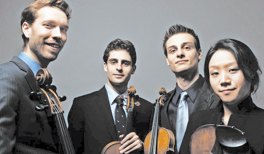 Rug Concert With Tesla Quartet Monday, April 9, Ridgeview
