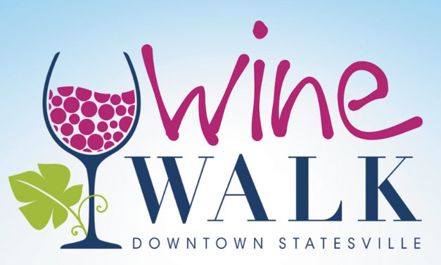 Wine Walk Sat., April 14, 4-7pm, In Downtown Statesville