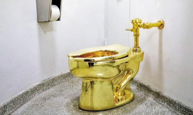 NYC Museum Offers Solid  Gold, Used Toilet To Trumps