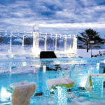 It's Not Too Cold For This Outdoor Bar In Maine, Carved Out Of Ice