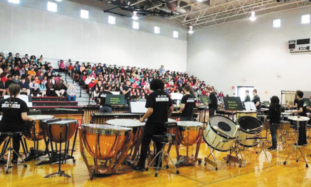 Piedmont Percussion Spring Concert Is Sunday, March 24