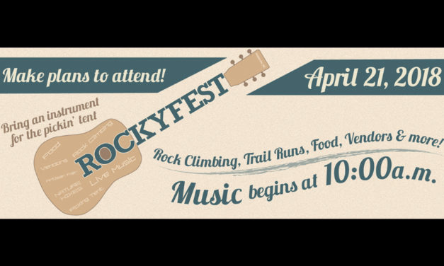 Don't Miss RockyFest Saturday,  April 21, At Rocky Face Park