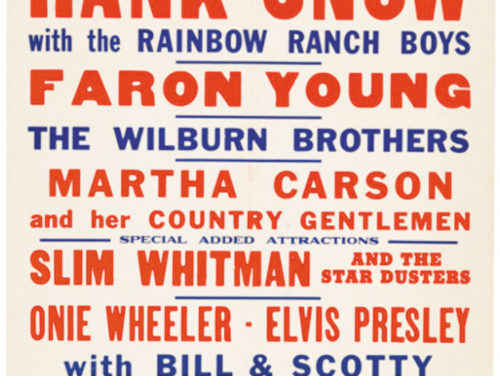 Vintage Poster For Elvis Show In Raleigh, NC Sells For Over $42,000