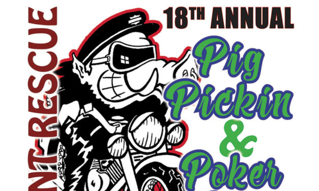 Claremont Rescue Squad's 18th Annual Pig Picking & Poker Run Is Saturday, April 21
