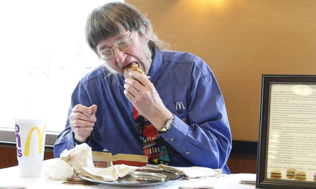 Wisconsin Man Eats 30,000  Big Mac Hamburgers