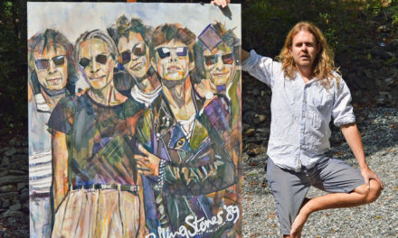 Artist Kent Paulette To Paint Live At Bottega,  During Today's Art Crawl In Downtown Hickory