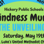 Hickory Public Schools' Kindness Mural Unveiling Will Be Held On May 19