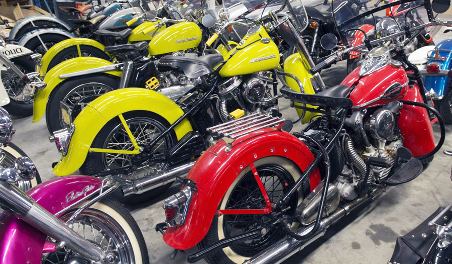 Retired Harley Dealer Auctioned Beloved Motorcycles & Collection