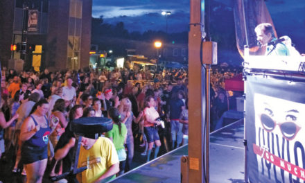 Too Much Sylvia Performs At Independence Day Celebration On June 29 In Downtown Valdese