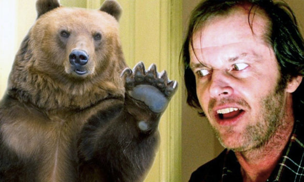 """Black Bear Wanders Into Hotel From King's """"The Shining"""""""