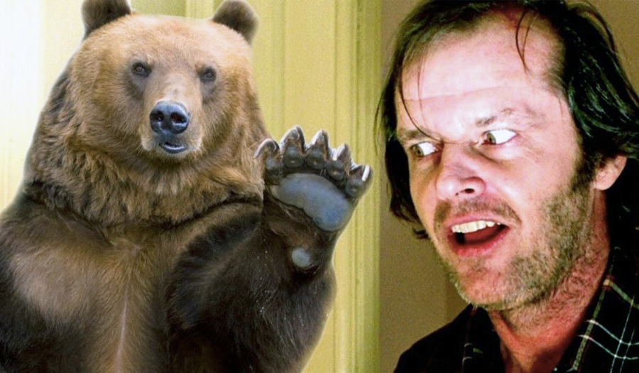 "Black Bear Wanders Into Hotel From King's ""The Shining"""