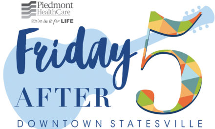 Statesville Friday After Five Concert Series  Features Divided By Four This Friday, Aug. 10