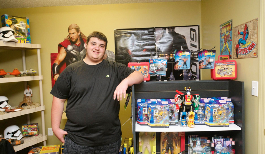 Lexington, NC, Teenager Fulfills Dream And Opens His Own Vintage Toy Store