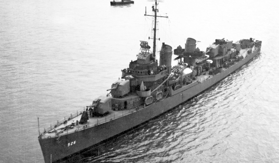 Survivor Of Only WWII Battle Fought On US Soil Reflects On Recently Found Ship, USS Abner Read