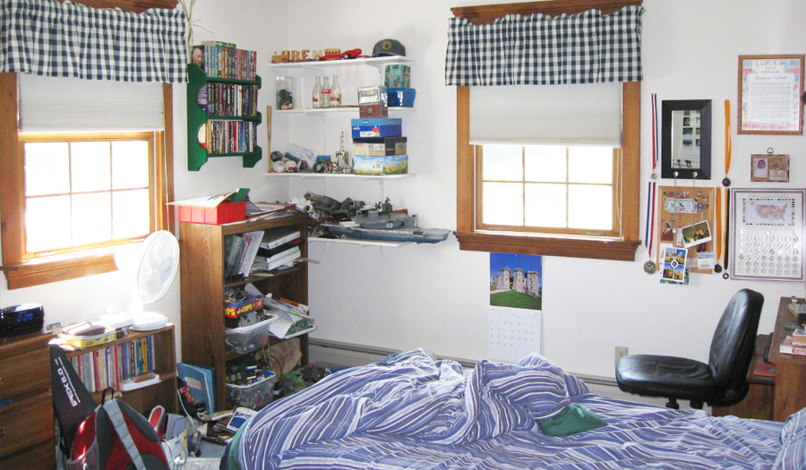 Kid's Left For College? Hands  Off Their Bedroom, For Now