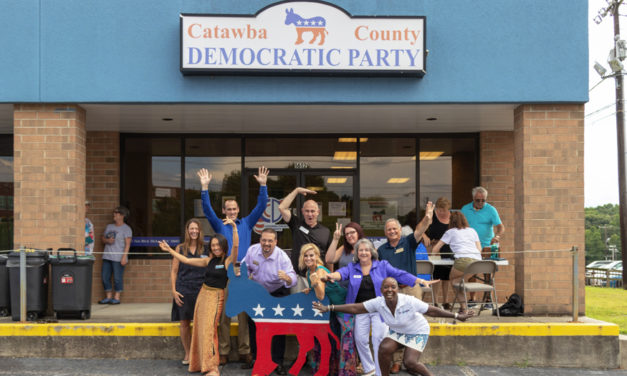 Democratic Party Hosts A Meet The Candidates Fish Fry On 9/23