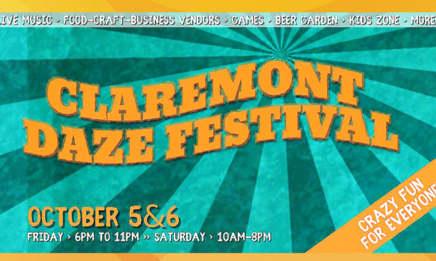 Claremont Daze Festival Is Set For Fri. & Sat., October 5 & 6