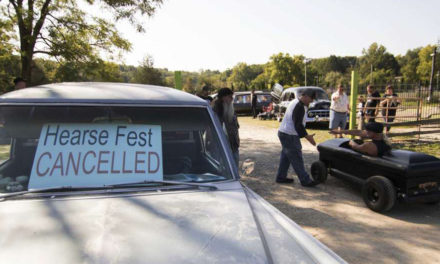 60 Hearses Gather In Hell Despite Festival Cancellation