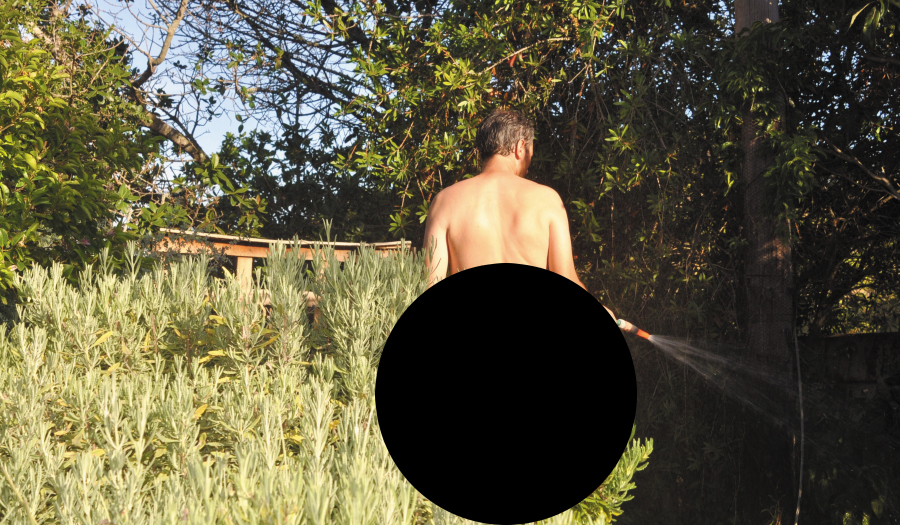 Plants, But No Pants: Florida Man Gardens In The Nude