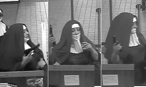 Nun Sentenced For Crime Spree, Robbing Bank In New Jersey