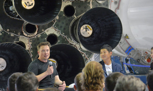 Japanese Billionaire Seeks Artists To Fly With Him On SpaceX
